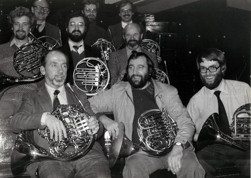 SNO Horn Section 1981